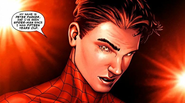 Spider-Man reveals his secret identity to the world