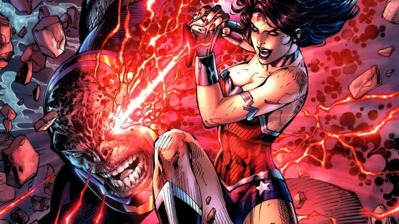 Wonder Woman and Darkseid