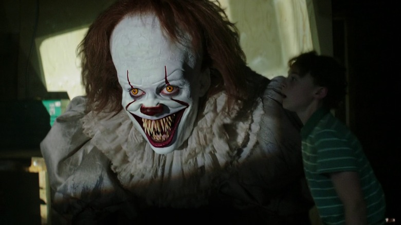Pennywise and Stan Uris in It