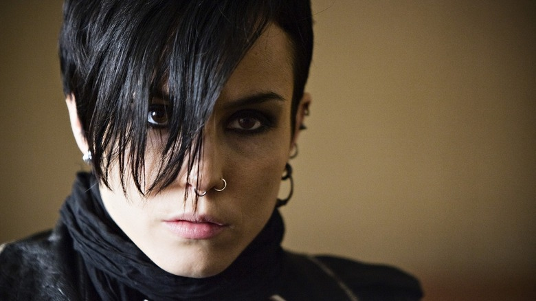 Noomi Rapace in The Girl with the Dragon Tattoo.