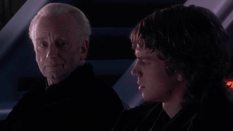 Palpatine tells the story of Darth Plagueis in Revenge of the Sith
