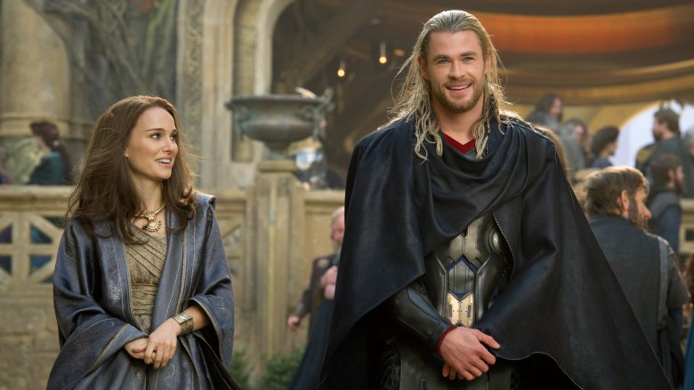 Jane Foster and Thor