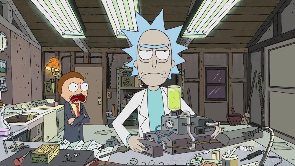 Rick makes a love potion