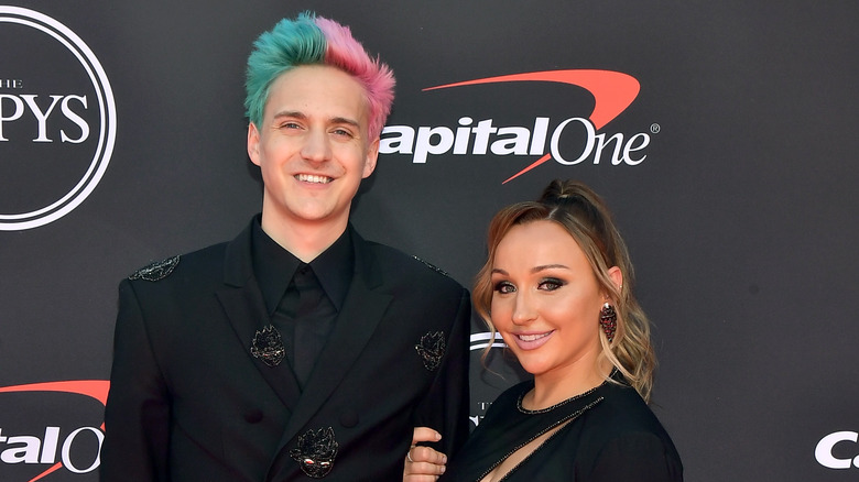 Ninja and Jessica at the 2019 Espy Awards