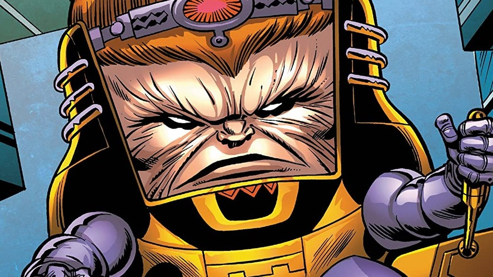 MODOK is a sinister force in the Marvel comics