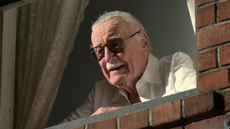 Stan Lee in Spider-Man Homecoming
