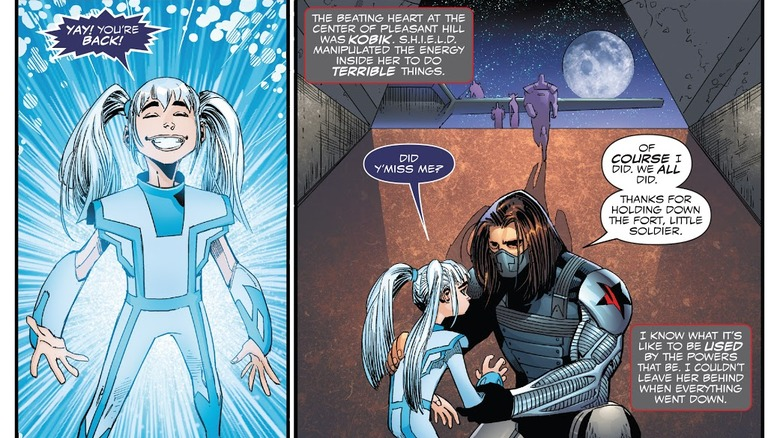 Kobik and Bucky Barnes/The Winter Soldier