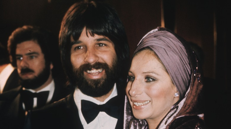 Jon Peters and Barbra Streisand