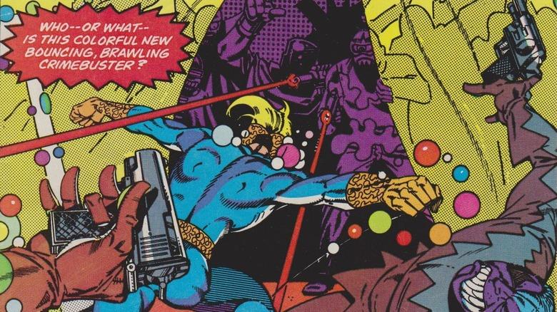 Speedball Steve Ditko Marvel Comics