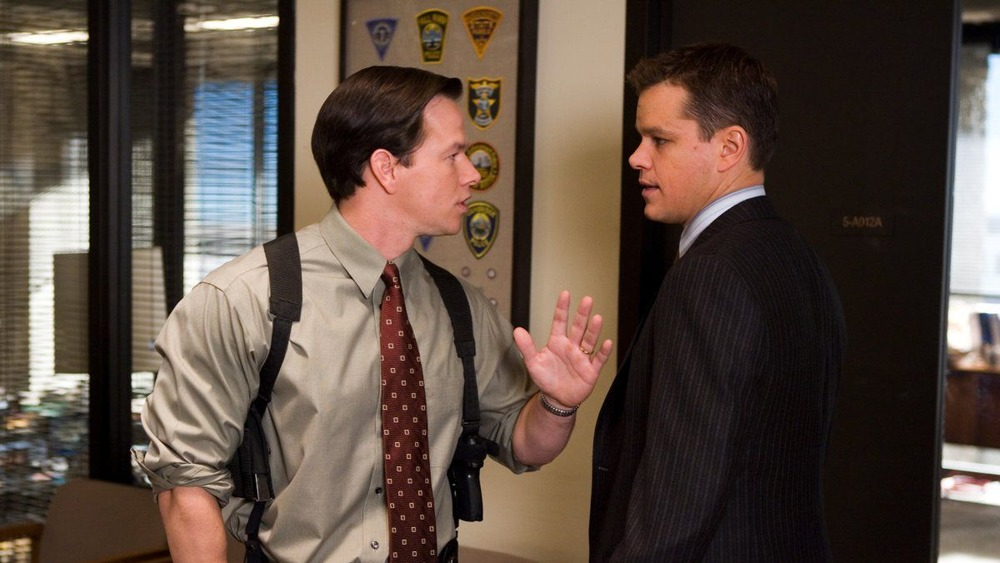 Wahlberg and Damon The Departed