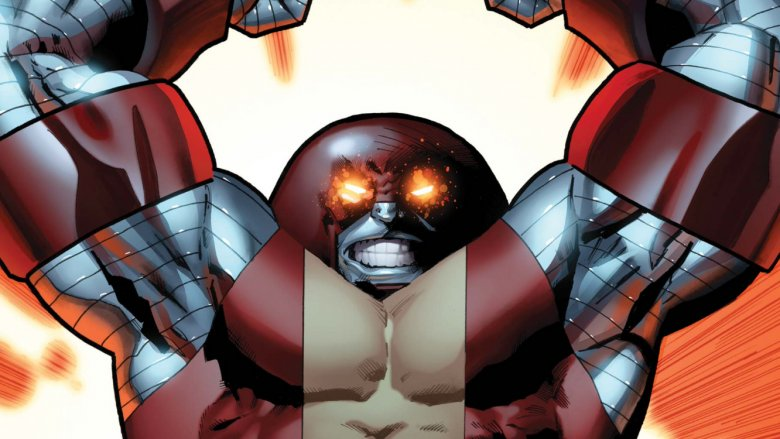 Colossus as Juggernaut