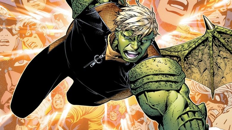 Hulkling from the Young Avengers