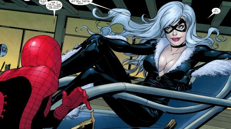 Spider-Man and Black Cat