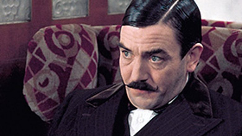 Albert Finney in Murder on the Orient Express
