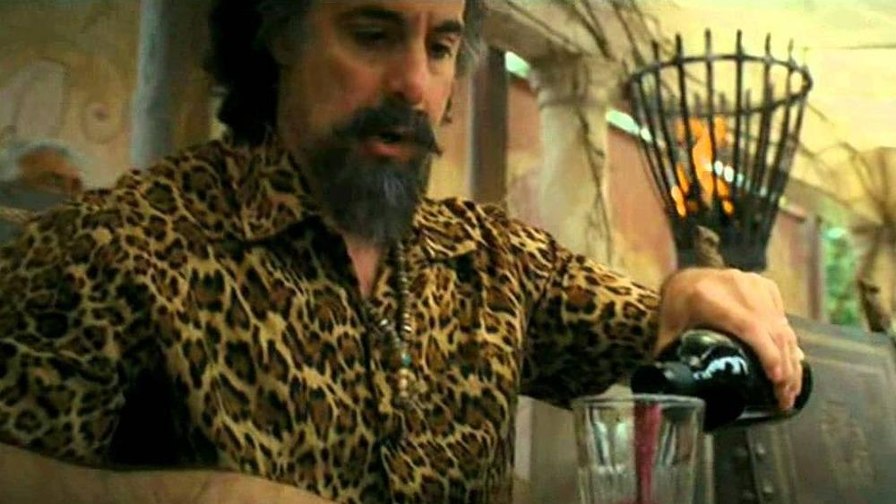 Dionysus drinking wine