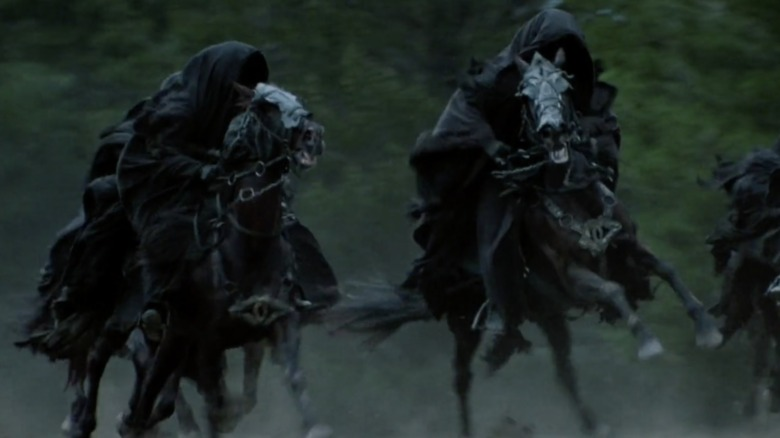 Lord of the Rings nazgul eye horse