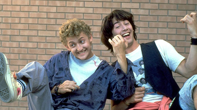 Alex Winter and Keanu Reeves in Bill and Ted