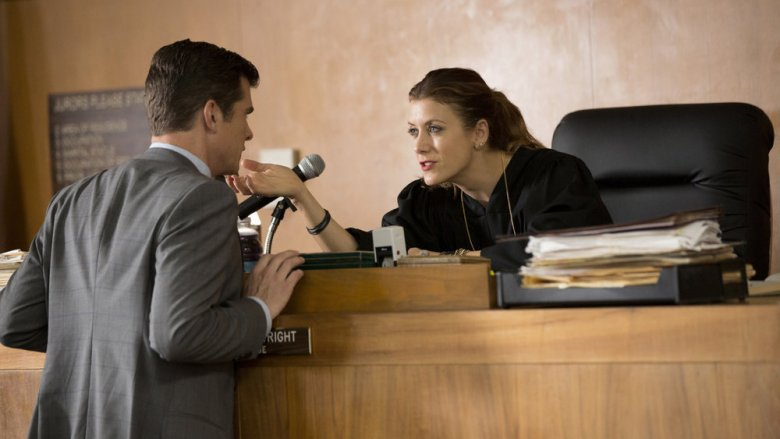 Scene from Bad Judge