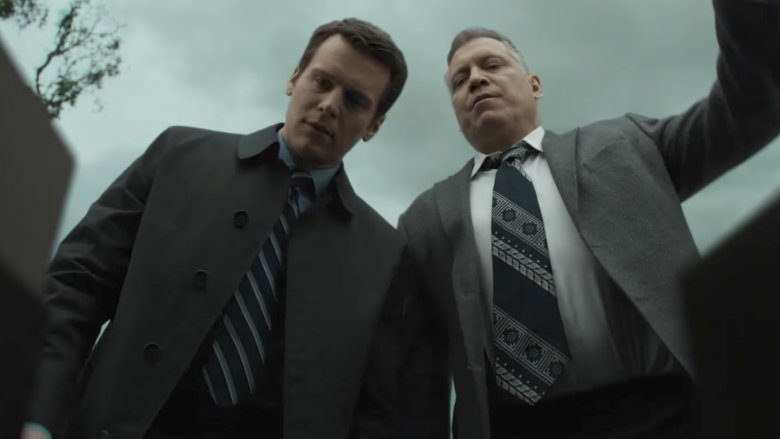 Jonathan Groff and Holt McCallany in Mindhunter