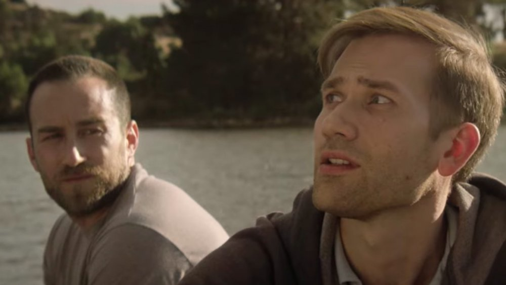 Justin Benson and Aaron Moorhead in The Endless