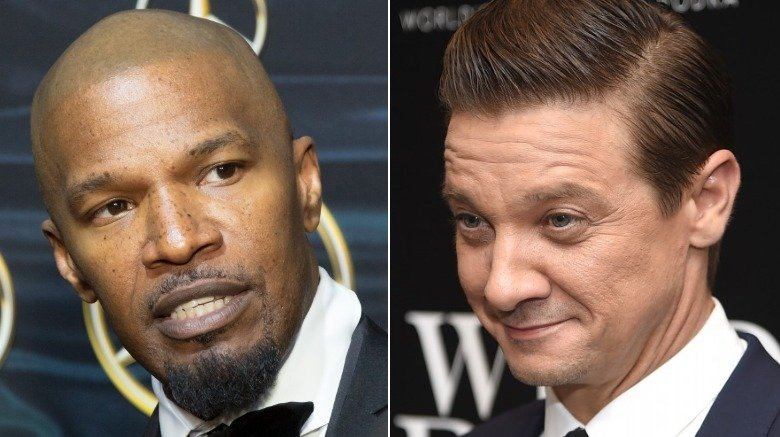 Jamie Foxx and Jeremy Renner