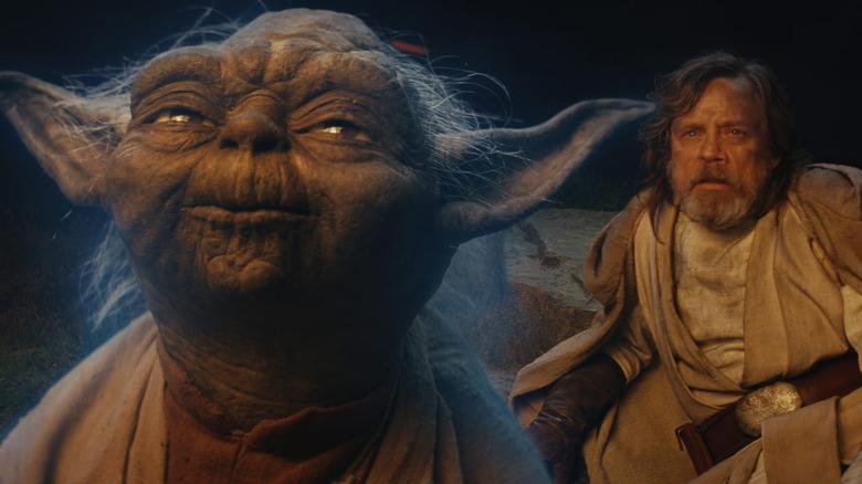 Scene from Star Wars: The Last Jedi