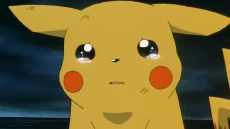 Pikachu crying