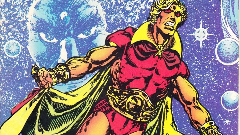 Adam Warlock on the cover of 1975's Warlock #9