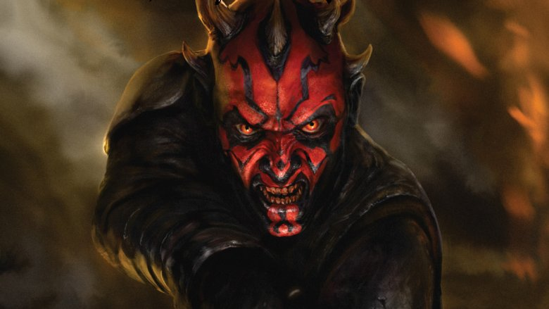 Darth Maul Son of Dathomir comic