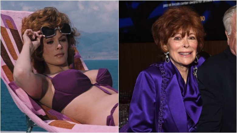 Jill St. John then and now