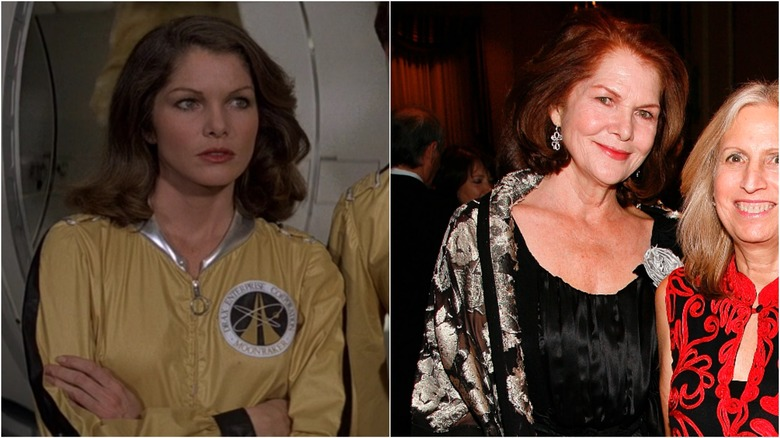 Lois Chiles then and now