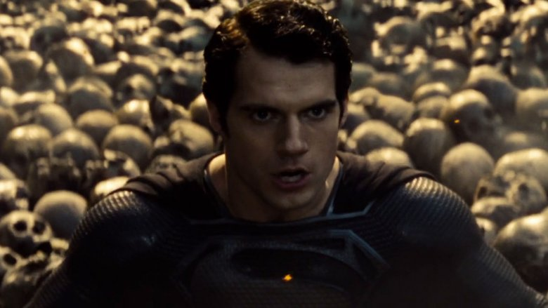 Superman during the nightmare sequence of 2011's Man of Steel