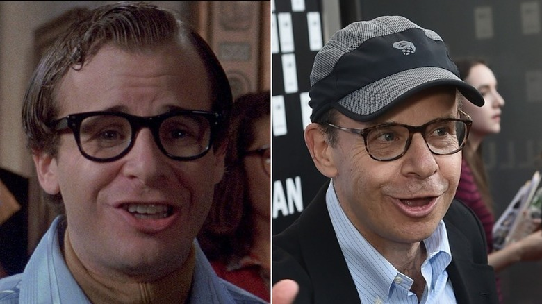 Rick Moranis then and now
