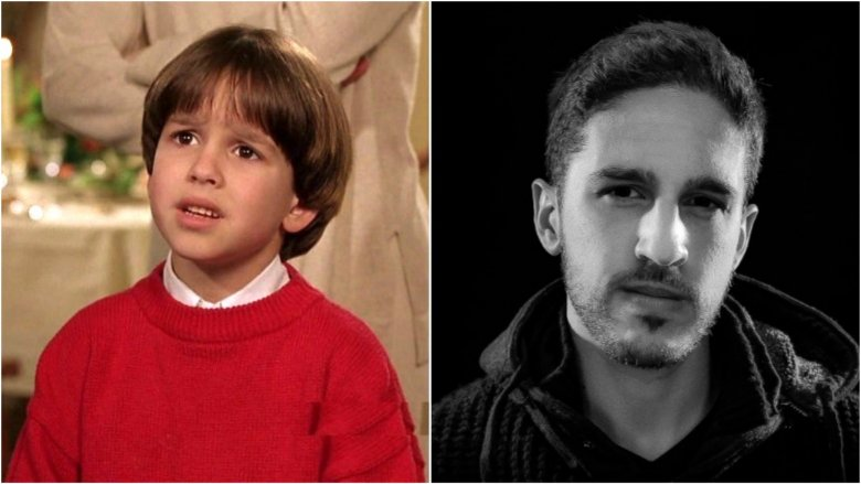 Eric Lloyd then and now