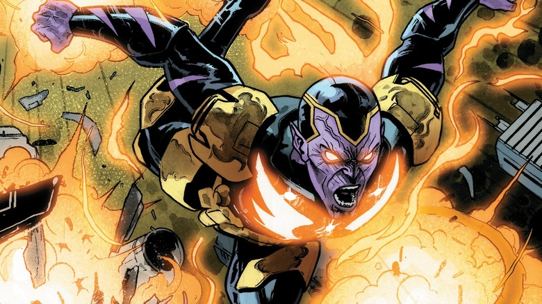 Thane imbued with the Phoenix Force
