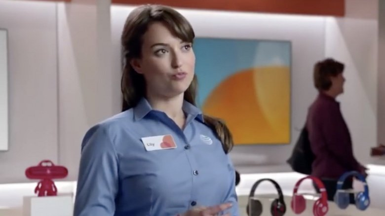 what you didn t know about the at t commercial girl