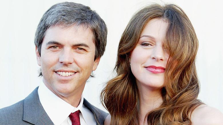 Jane Leeves & husband Marshall Coben.