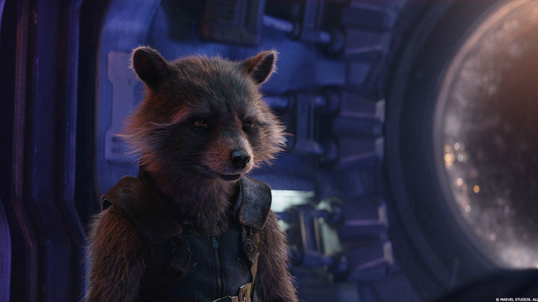 Rocket in Avengers: Infinity War