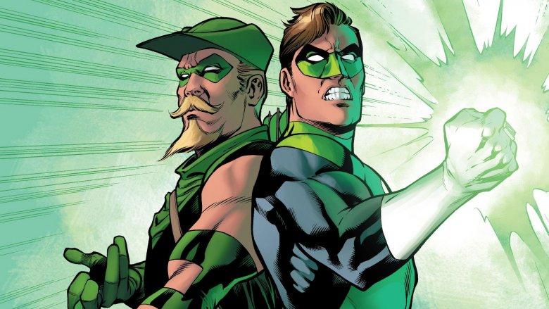 Green Arrow and Green Lantern