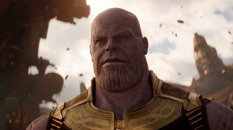 Scene from Avengers: Infinity War