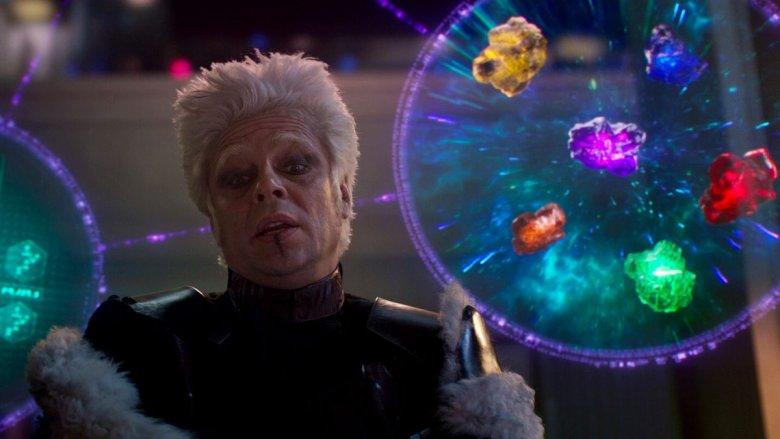 Benicio del Toro in Guardians of the Galaxy