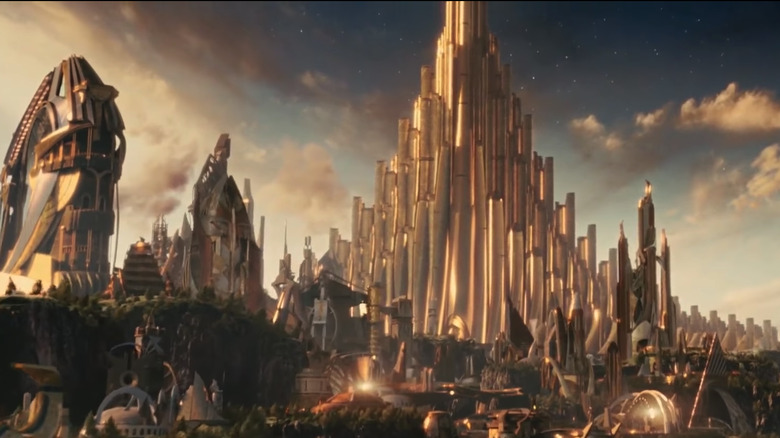 The once proud city of Asgard