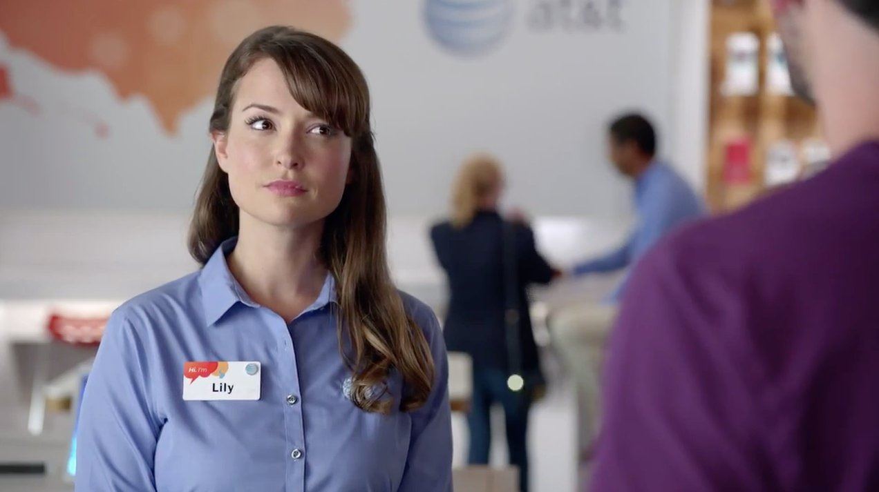 What You Didn't Know About That AT&T Commercial Girl