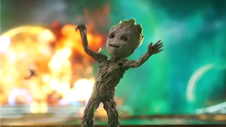 Baby Groot Guardians Of The Galaxy Vol 2 Hd Movies 4k: Guardians Vol. 2 International Trailer Released