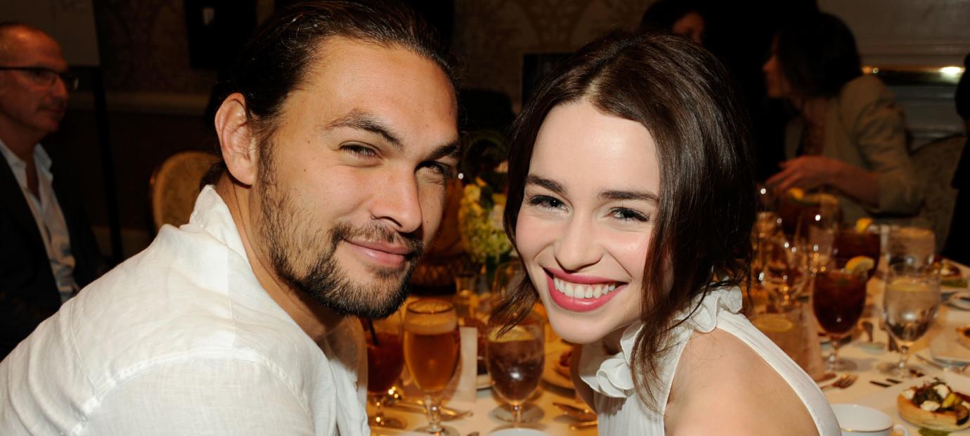 Jason Momoa gets emotional speaking about almost losing Emilia Clarke