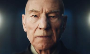 Patrick Stewart as Jean-Luc Picard on Star Trek Picard